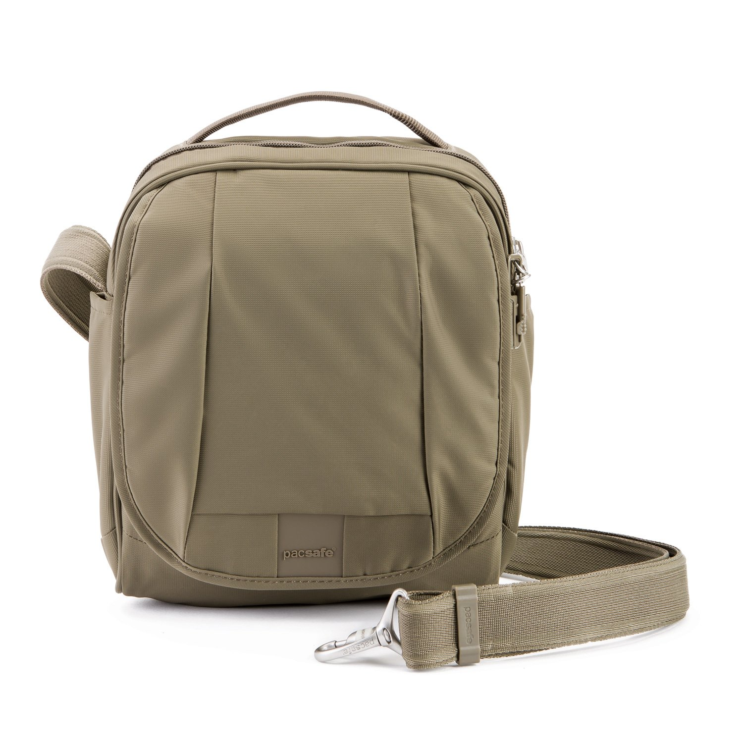 PacSafe Metrosafe Ls200 Anti-Theft Medium Crossbody Travel Cross-Body Bag, Earth Khaki, One Size