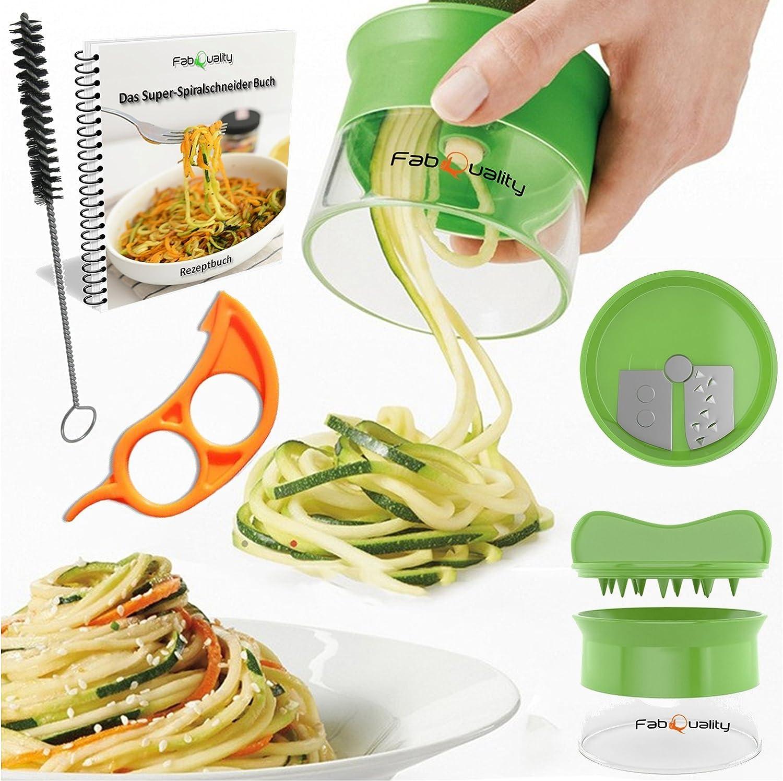 Cortador espiral manual para hacer espaguetis de verduras y patatas pelador de