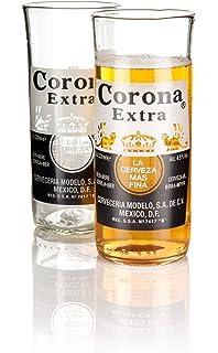 Corona Extra Beer - weiße Sonnenbrille mit Stoffbeutel - UV 400 Categorie 3 JW3QtKMah