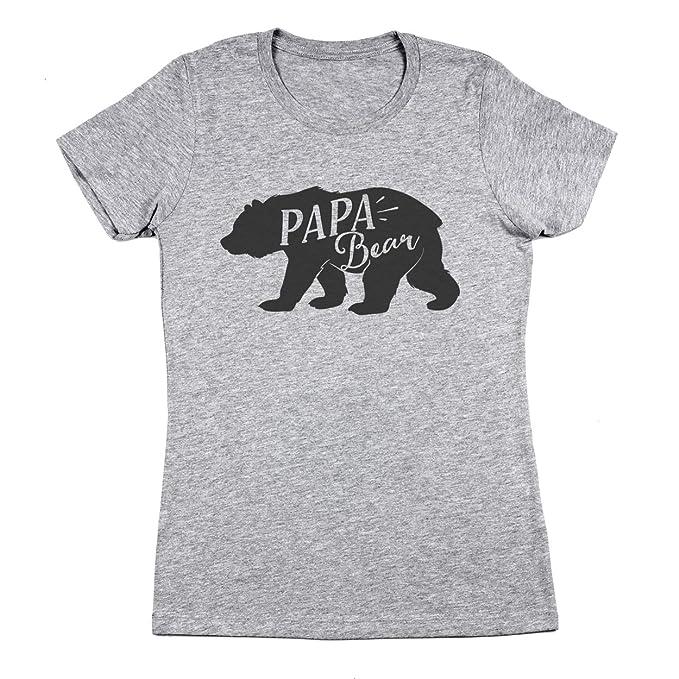 7408e957f6 Amazon.com  Papa Bear Women s Jr Fit T-Shirt  Clothing