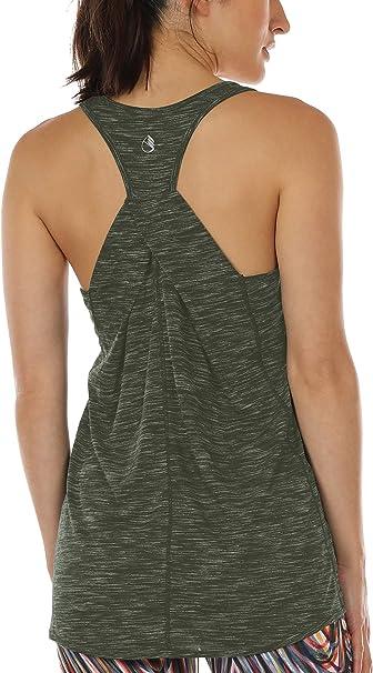 Amazon.com: icyzone Camisetas de entrenamiento para mujer ...