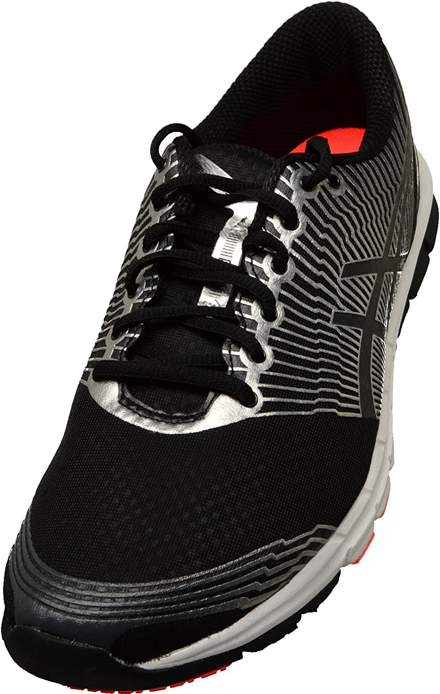 Asics - Zapatillas para Correr en montaña para Hombre Black/Lightning/Hot, Color Negro, Talla 40: Amazon.es: Zapatos y complementos