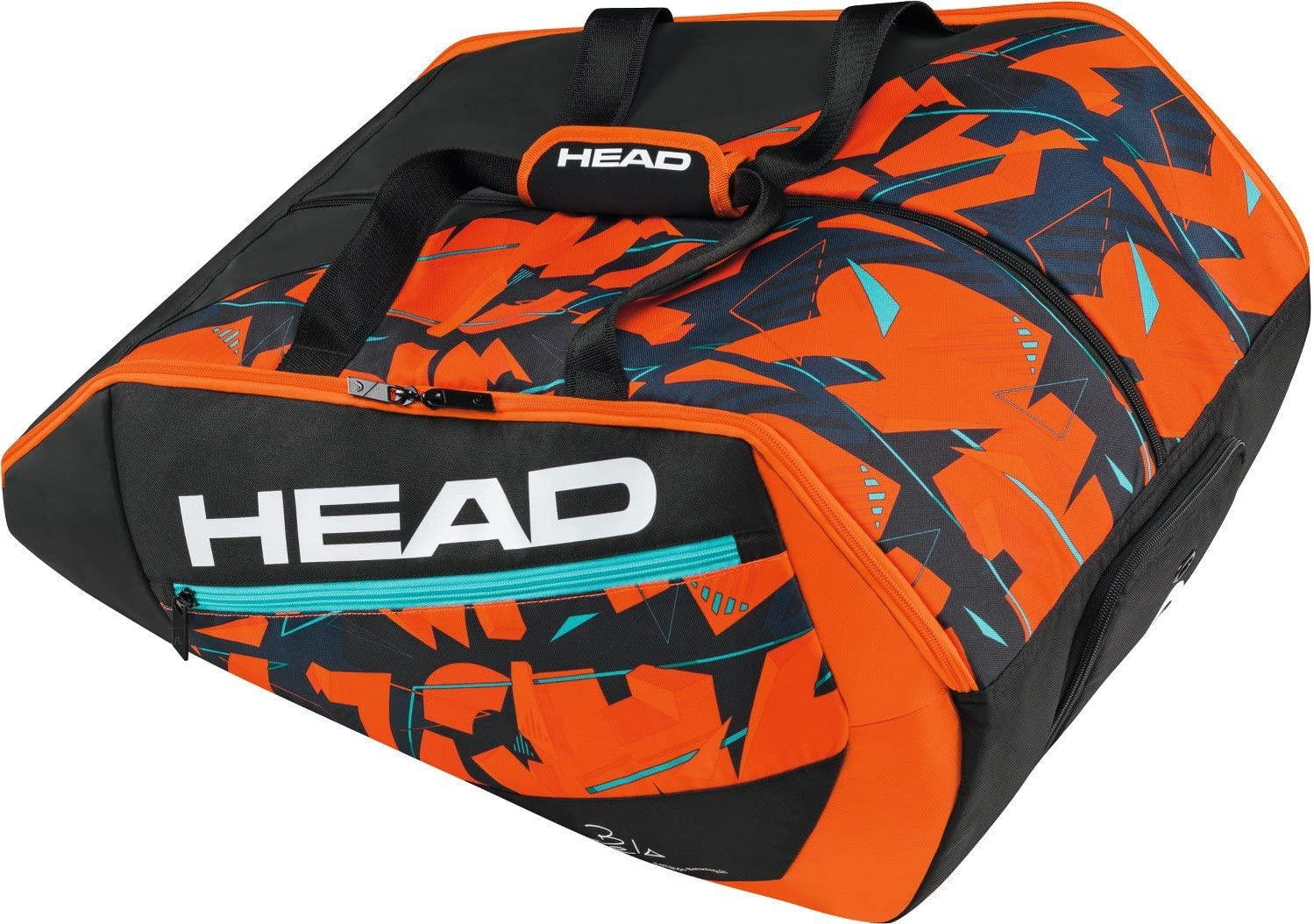 Head Delta Bela Monstercombi Bolsa de Tenis, Unisex Adulto, Negro ...