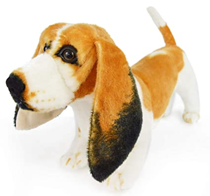 Amazon Com Viahart Bourguignon The Basset Hound 19 Inch Large Dog