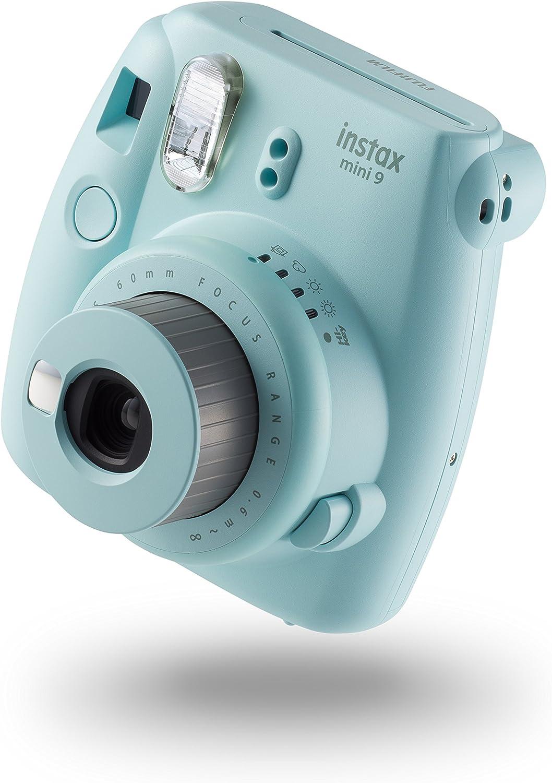 Fujifilm Instax Mini 9 - Cámara instantánea, Cámara con 10 películas, Azul