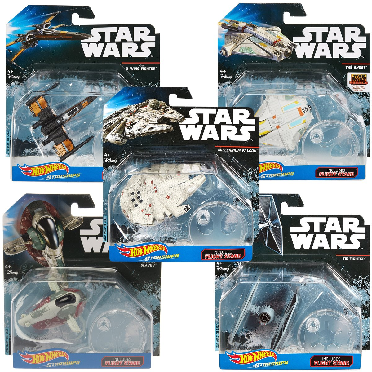 Star Wars (12 Pack) Hot Wheels