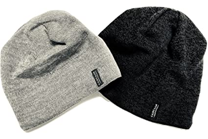 a752029e3ce Amazon.com  Wool Beanie Hats (2 Pack)  Sports   Outdoors