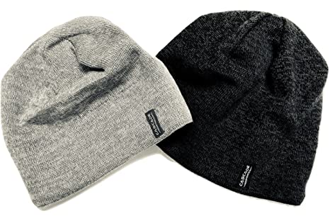 Amazon.com  Wool Beanie Hats (2 Pack)  Sports   Outdoors 8fea08f363f