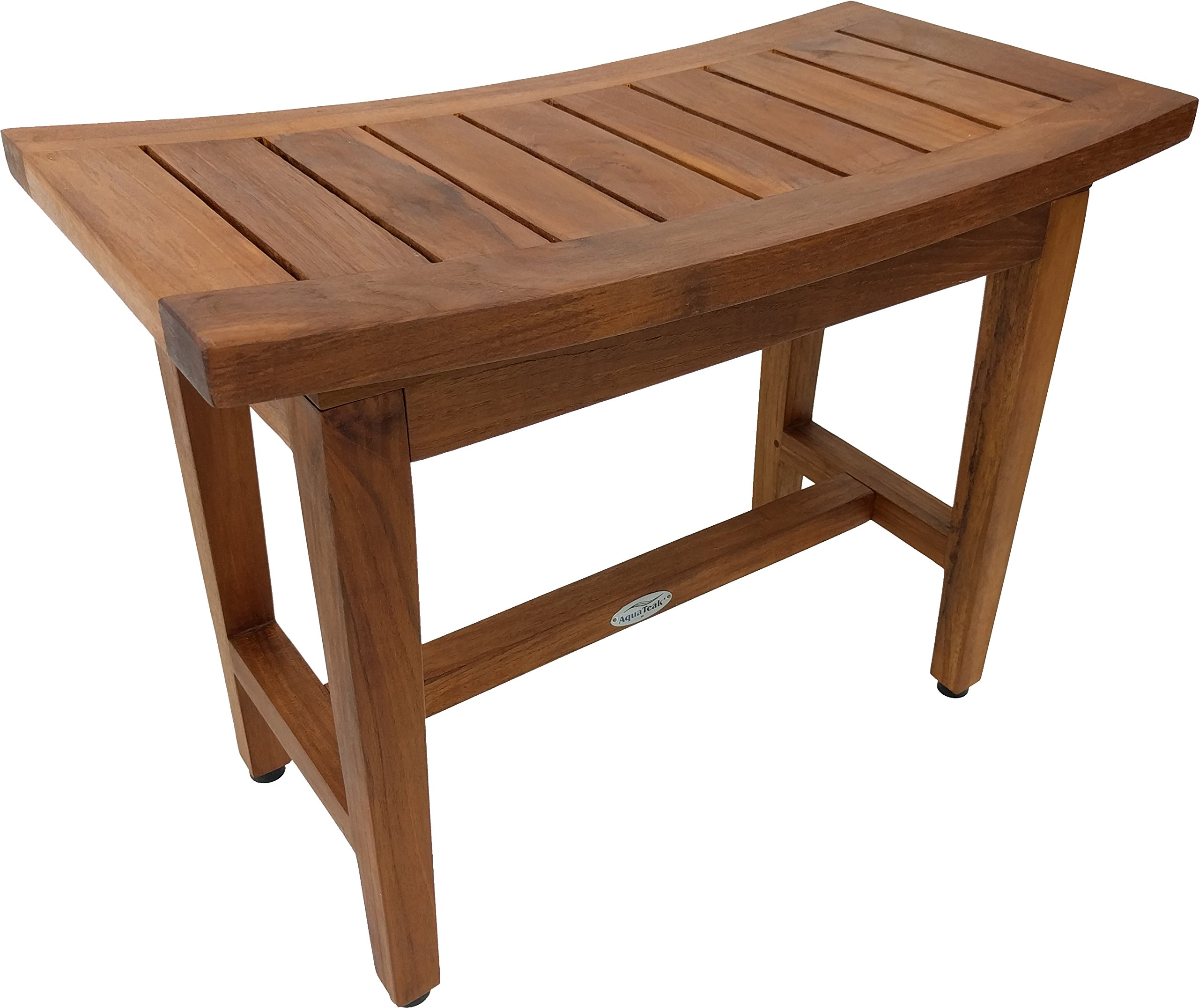 Maluku Lotus 24'' Teak Shower Bench