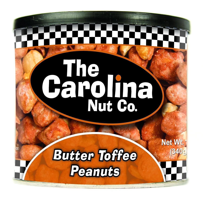 The Carolina Nut Company Peanuts, Butter Toffee, 12 Oz
