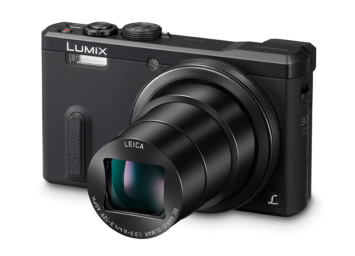 Amazon.com : Panasonic DMC-ZS40K Digital Camera with 3-Inch LCD (Black) :  Camera & Photo