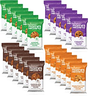 product image for Maxine's Heavenly - Gluten Free, Vegan Cookies - Variety Snack Packs (40 snack packs total)