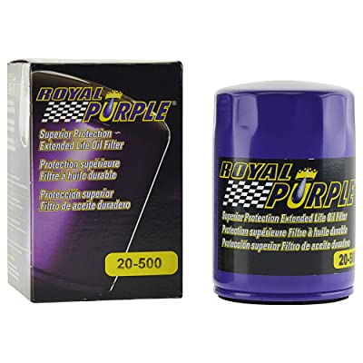 Royal Purple Extended Life Premium Oil Filter 20-500, Engine Oil Filter for Buick, Cadillac, Chevrolet, and GMC: Automotive