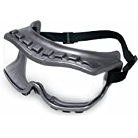 Uvex S3810 Strategy Safety Goggles, Gray Body, Clear Uvextra Anti-Fog Lens, Neoprene Headband