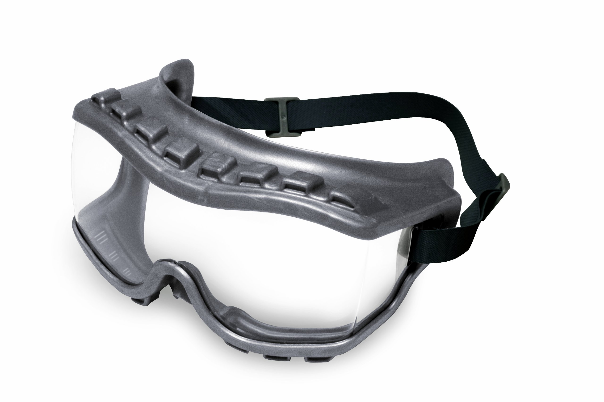 UVEX by Honeywell 763-S3810 Strategy Goggle, Indirect Vent, Neoprene Headband Gray Body, Clear Lens, Uvextra Anti-fog Coating, Clear