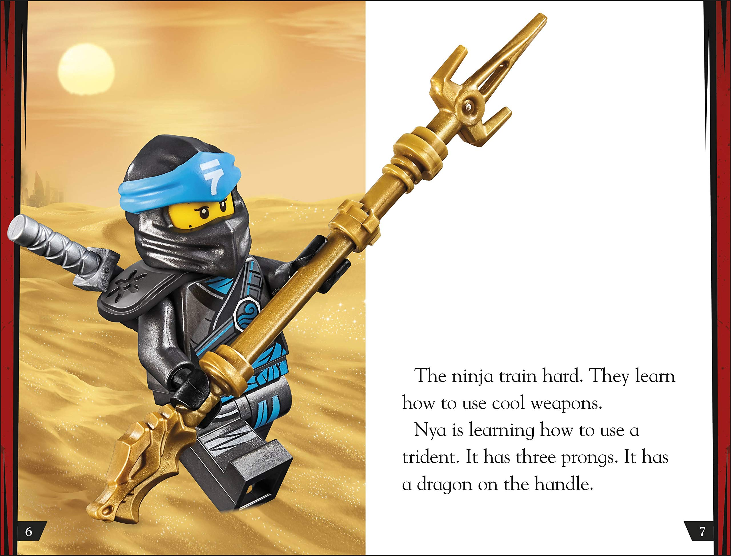 LEGO NINJAGO How To Be A Ninja (DK Readers Level 2): Amazon ...