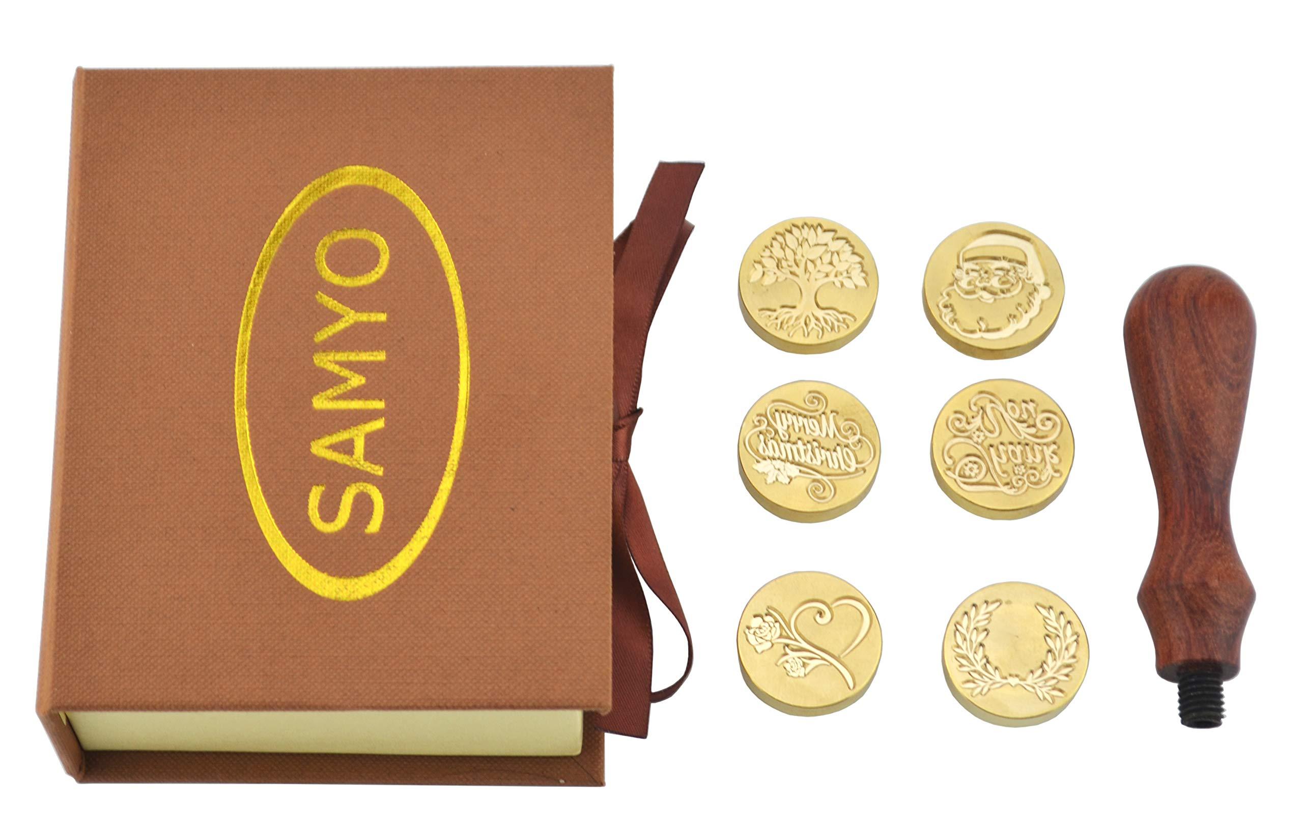 Gift Package Wax Seal Christmas Wax Seal Stamp Wax Sealing Stamp Santa Claus Sealing Wax Stamp Christmas Gift Wax Seal Kit