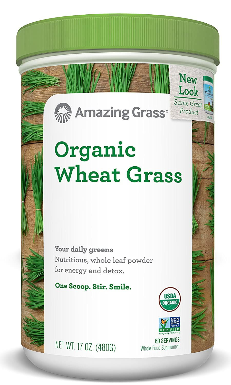 Amazing Grass- Organic Wheatgrass Powder in 60 Servings