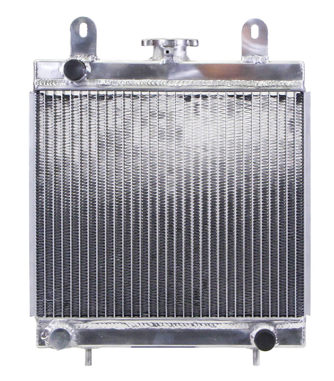 High Performance All Aluminum TIG Welded Radiator for Polaris Scrambler, Xplorer & Trailblazer ATV American Cooling Solutions