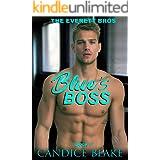 Blue's Boss (The Everett Bros Book 1): An MM Office Romance Novel