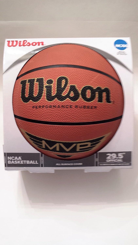 Wilson Wilson Wilson NCAA MVP 29,5 Performance Gummi Basketball B018CIJ6SI | Verbraucher zuerst  d64971