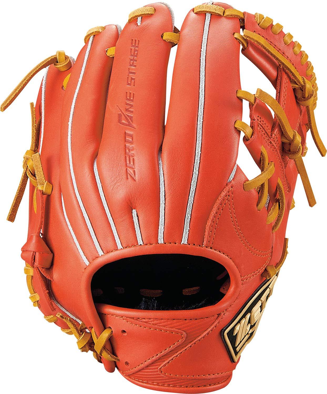 ゼット(ZETT) 少年野球 軟式 グラブ (グローブ) ゼロワンステージ セカンド ショート 右投用 身長120cm~135cm 新軟式ボール対応 BJGB71910 B07HJKN9JW  ディープオレンジ×オークブラウン(5836)