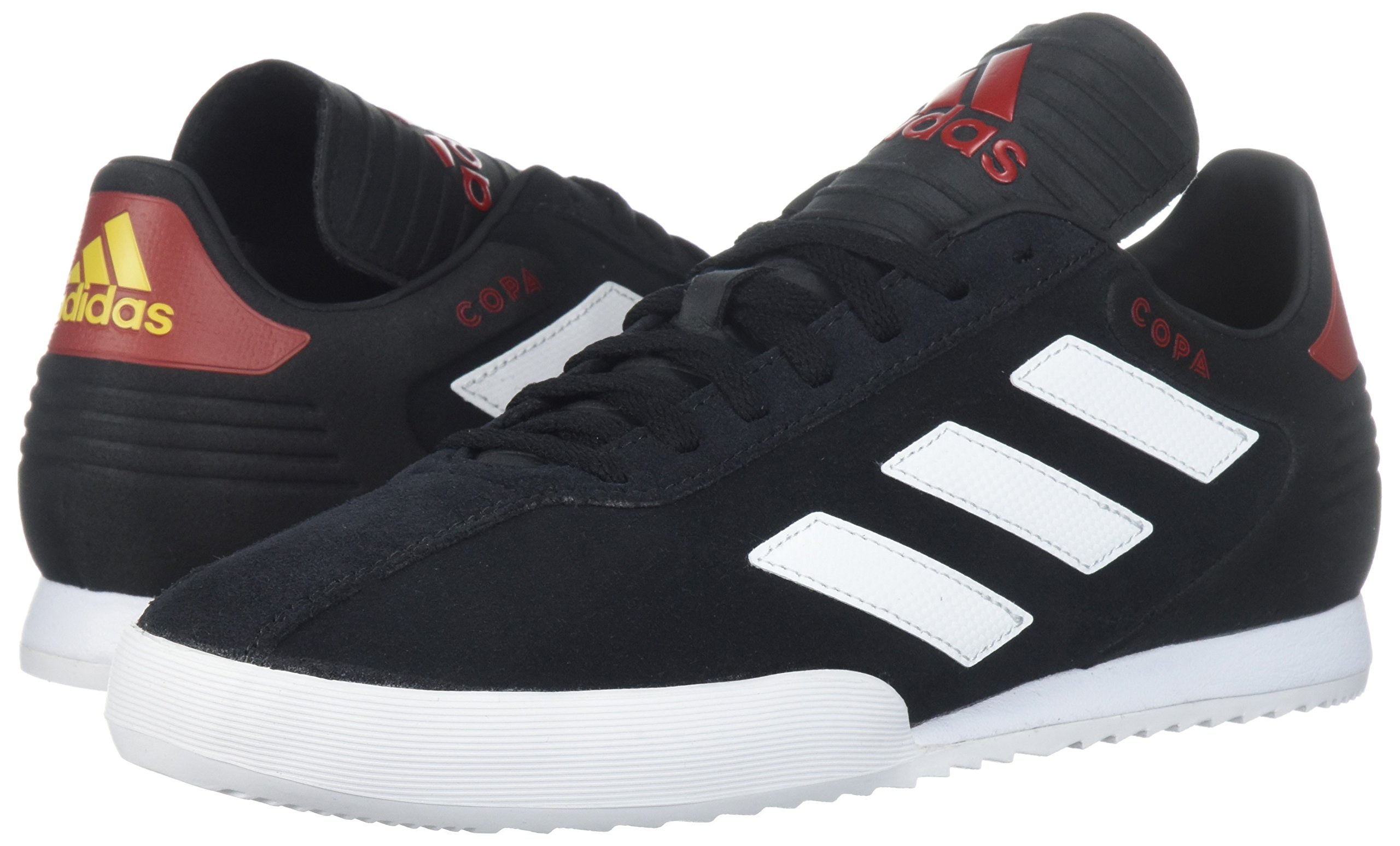 adidas Men's Copa Super Soccer Shoe, Black/White/Power Red, 9 M US by adidas (Image #6)