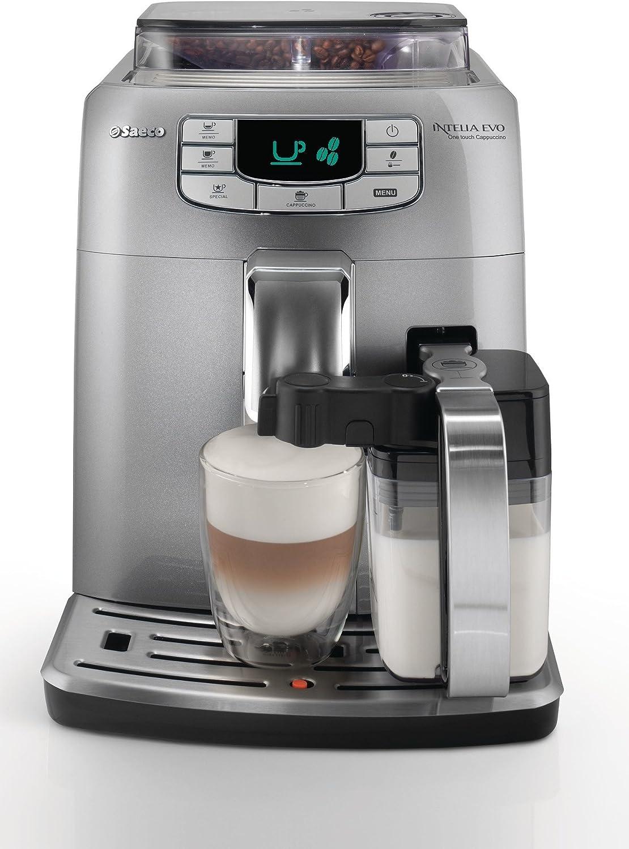 Saeco HD8753/95 - Cafetera expresso súper automática (Intelia EVO ...