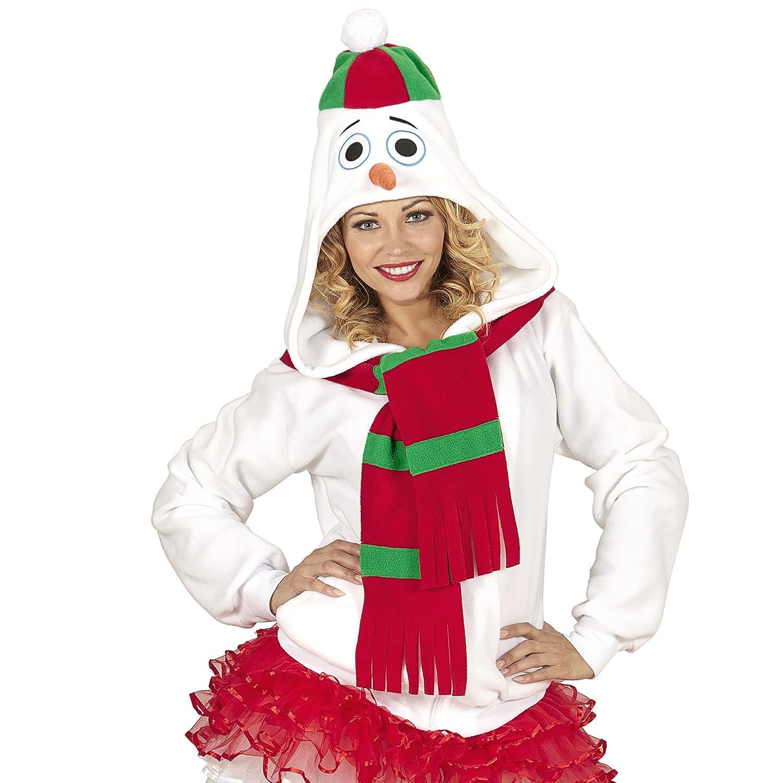 WIDMANN Disfraz de muñeco de nieve para adulto