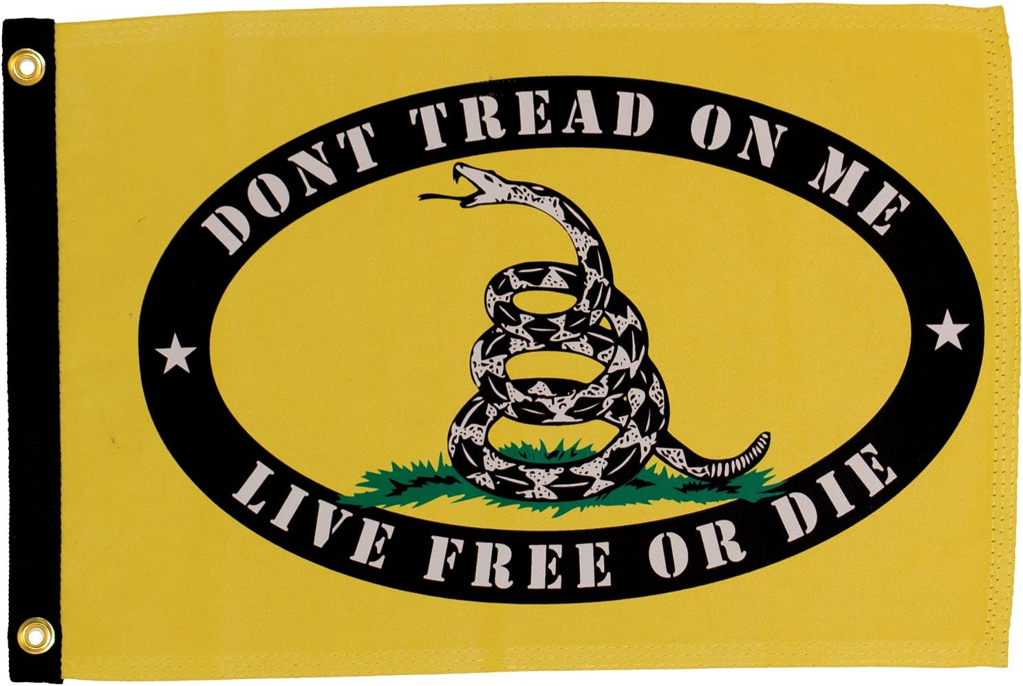 Amazon.com : In the Breeze Live Free or Die Lustre Grommeted Boat Flag, 12  by 18-Inch : Garden & Outdoor