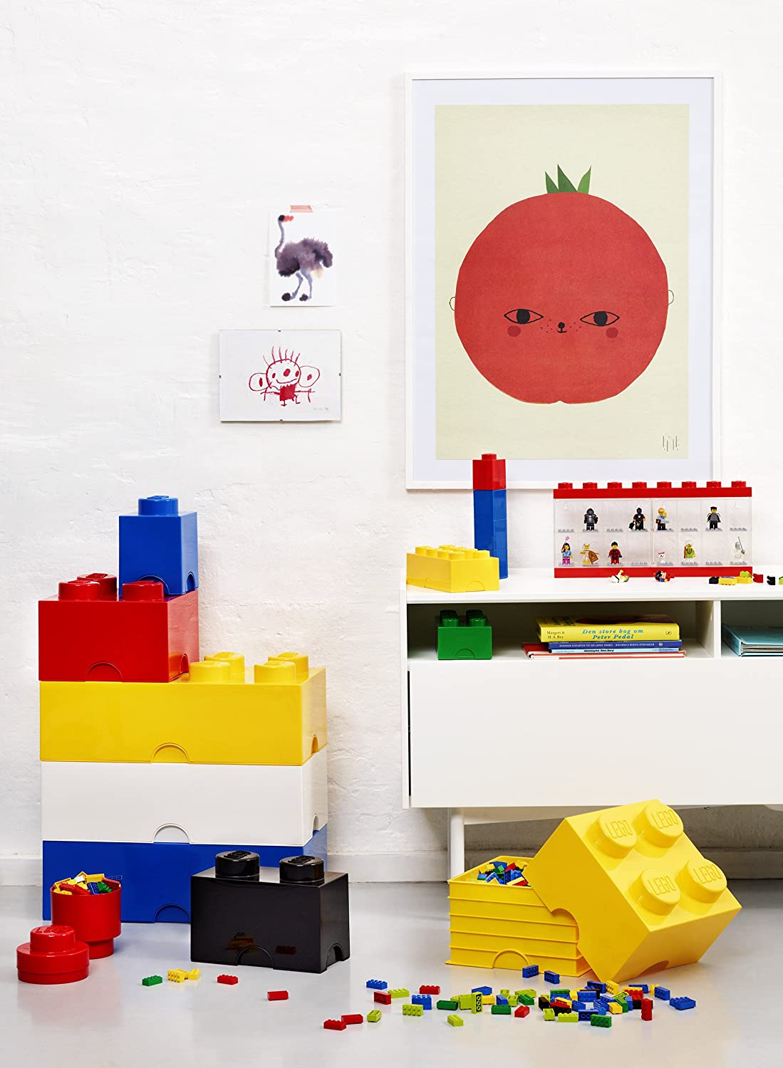 Beau Amazon.com: LEGO Storage Brick 8 Bright Yellow: Room Copenhagen: Home U0026  Kitchen