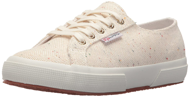 Superga Women's 2750 Specklew Sneaker B0777XJFD7 39 M EU (8 US)|White/Multi