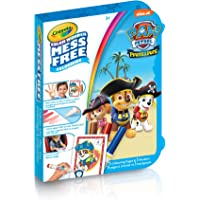 """Crayola Paw Patrol """"Mini"""" Color Wonder On-The Go Colouring Pad & Markers, Mess Free Colouring, Washable, No Mess, for Girls and Boys, Gift for Boys and Girls, Kids, Ages 3, 4, 5,6 and Up, Summer Travel, Cottage, Camping, on-the-go,  Arts and Crafts,  Gifting"""