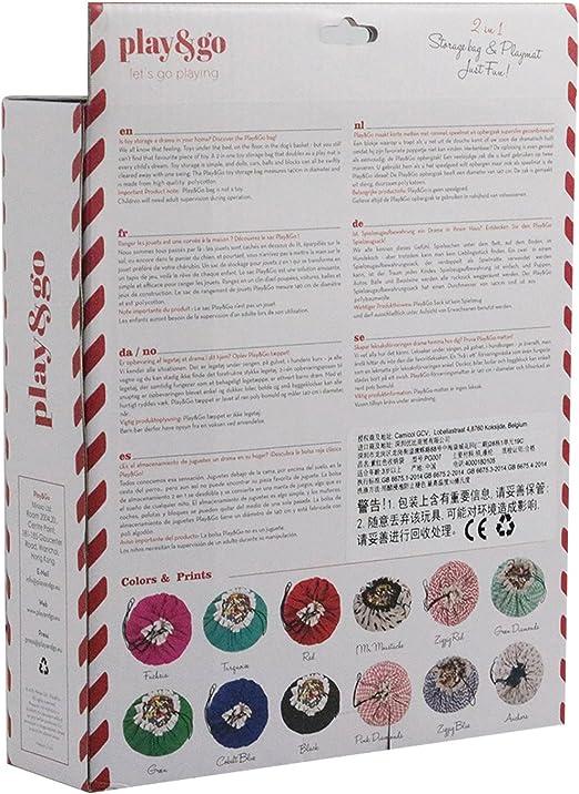 Fucsia Play/&Go Tappeto sacco porta giochi biancheria articoli per lo sport o per il tempo libero
