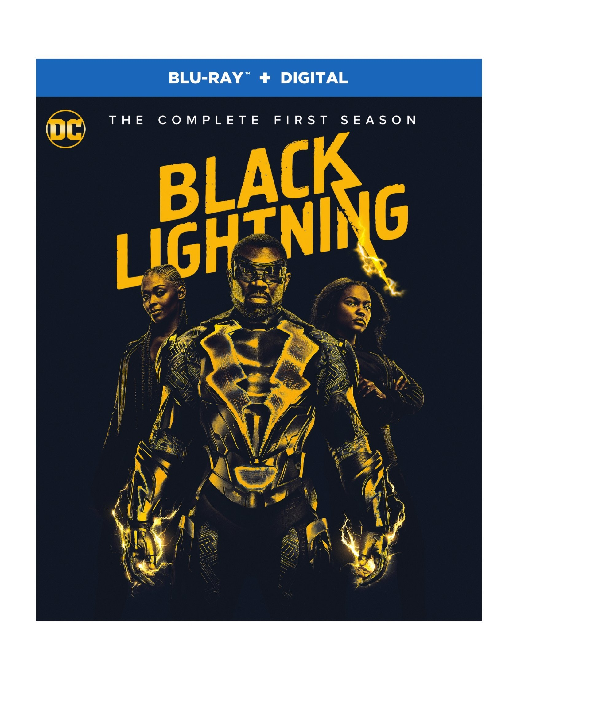 Blu-ray : Black Lightning: Season 1 (Blu-ray)