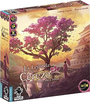 TCG Factory LA LEYENDA DEL CEREZO QUE FLORECE CADA DIEZ AÑOS Juego de mesa en español familiar y para niños. Para niños y adultos a partir de 8 años de edad.: Amazon.es: