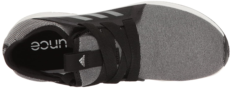 adidas Women's Edge Lux W Running Shoe B01H7WYRIY 8 B(M) US|Black/White/Metallic/Silver