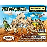 Puzzled Stegosaurus Dinosaur 3D Woodcraft Construction Kit