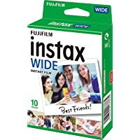Fujifilm Instax Film Single PK (10 Sheets Gloss)Suitable for Instax 210wide & Instax 300wide