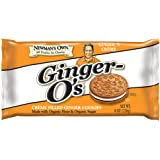 Newman's Own Ginger-O's, Crème Filled Ginger Cookies, 8-Ounce Packages (Pack of 6)