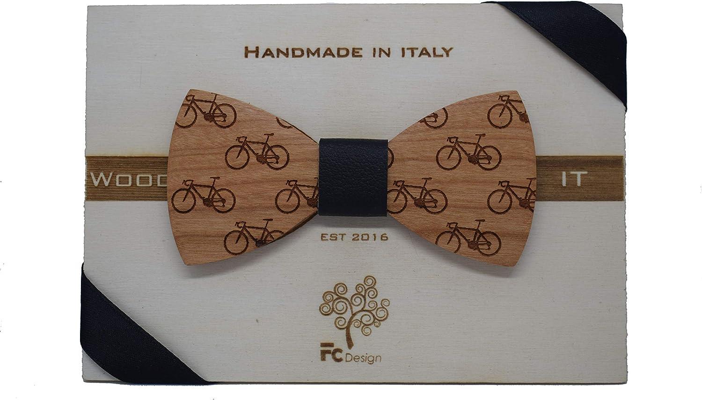 fatto a mano cerimonia nodo n pelle e girocollo regolabile Papillon in legno Bici matrimonio sei colori disponibili personalizzabile accessori uomo papillon legno