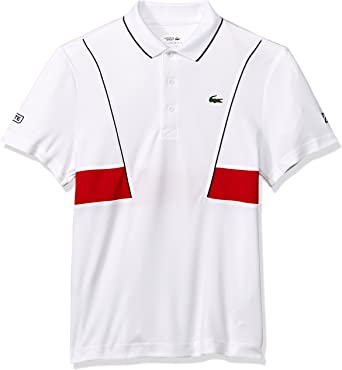 Lacoste Hombres DH3325-51 Manga Corta Camisa Polo - Blanco ...
