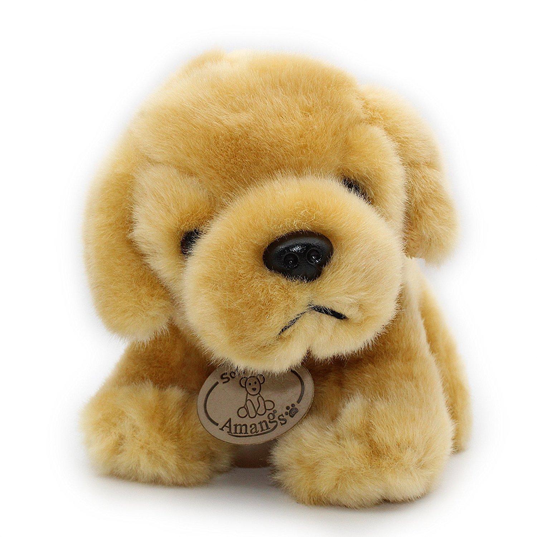 Amazon Com Rocktrend Cute Golden Labrador Retriever Plush Puppies