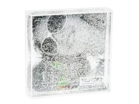 Wanted Snowglobe Photo Frame, Square, Silver Plastic: Amazon.co.uk ...
