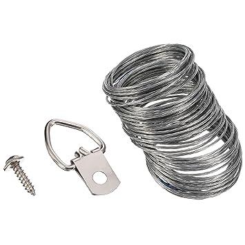 Bilder Hängen Kit Enthält 50 Stück D-Ring Bilder Aufhänger mit ...