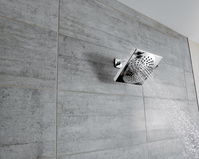 Moen S6345 Velocity Two-Function 8-1/2-Inch Diameter Spray Rainshower Showerhead, Chrome by Moen (Image #3)