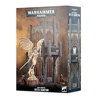 Games Workshop Warhammer 40,000: Adepta Sororitas Battle Sanctum: Toys & Games