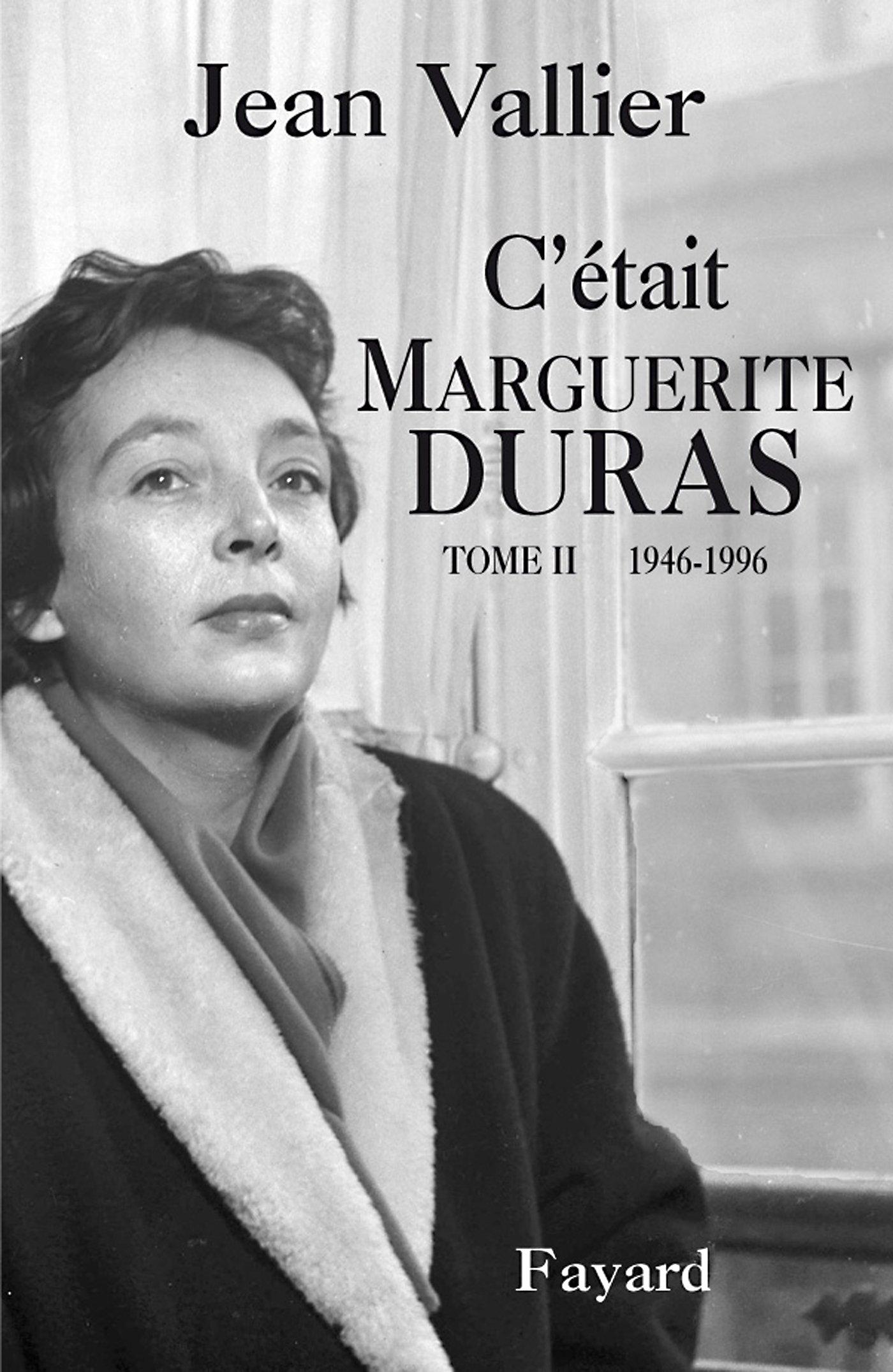 C Etait Marguerite Duras T 2 Documents French Edition Vallier Jean 9782213643472 Amazon Com Books