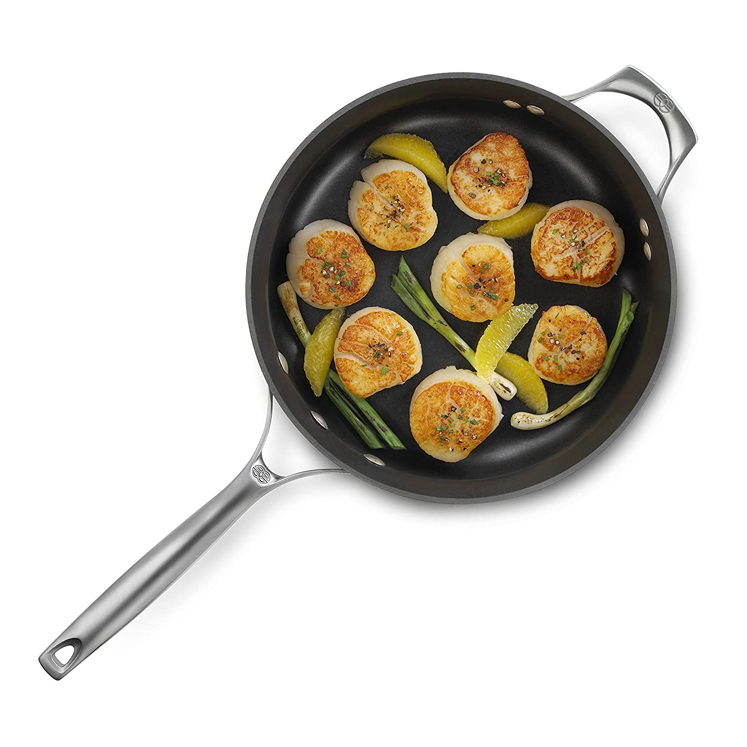 Cookware gt see more select by calphalon ceramic nonstick 8 inch an - Amazon Com Calphalon Unison Nonstick 3 Qt Saute Pan With Cover Saute Pans Kitchen Dining