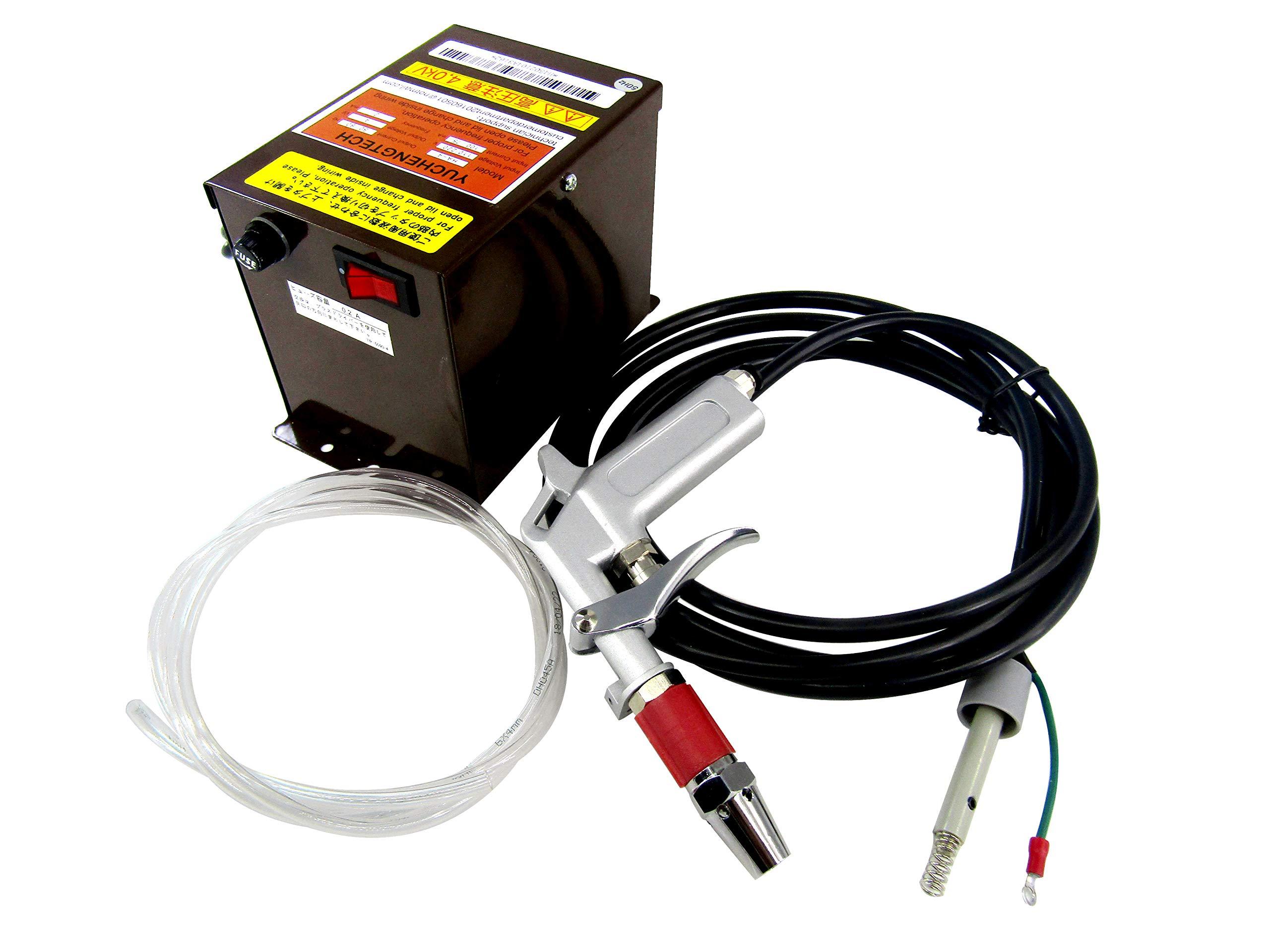 YUCHENGTECH Ionizing Air Gun Antistatic Sprayer Static Electrostatic Eliminator + High Voltage Generator 110V
